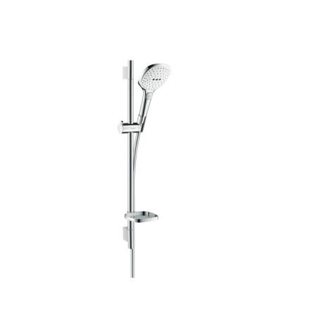 Hansgrohe Raindance Select E Zestaw prysznicowy 65 cm chrom/biały 26620400