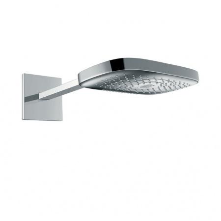 Hansgrohe Raindance Select E 300 3jet Deszczownica 30x19 cm z ramieniem ściennym 39 cm, biała/chrom 26468400