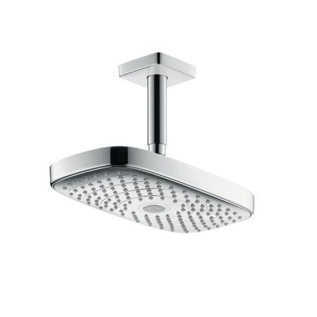 Hansgrohe Raindance Select E 300 3jet EcoSmart 9 l/min Deszczownica z przyłączem sufitowym 10 cm, chrom 26608000
