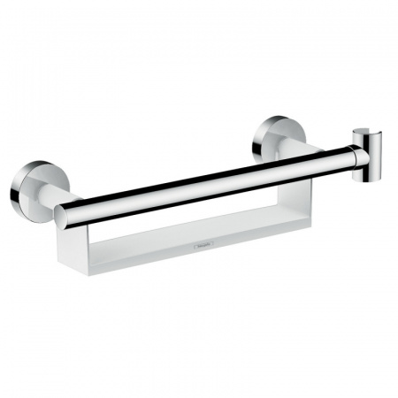 Hansgrohe Raindance Select S Drążek Comfort z półką i uchwytem prysznicowym, biały/chrom 26328400
