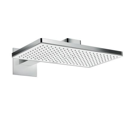 Hansgrohe Rainmaker Select 460 1jet Deszczownica z ramieniem 45 cm, biała/chrom 24003400