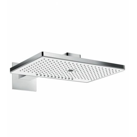 Hansgrohe Rainmaker Select 460 3jet Głowica prysznicowa z ramieniem prysznicowym 46x30 cm EcoSmart, chrom/biały 24017400