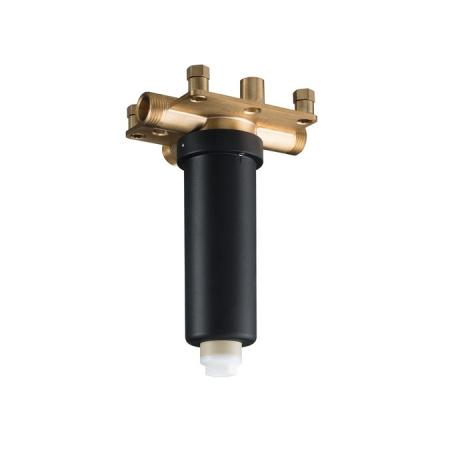 Hansgrohe Rainmaker Select 460 Zestaw podstawowy do głowicy prysznicowej z przyłączem sufitowym, biała/chrom 24010180