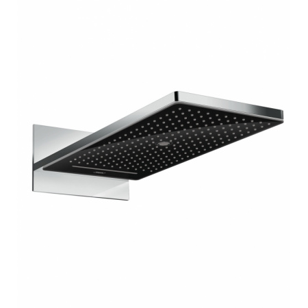 Hansgrohe Rainmaker Select Deszczownica ścienna 26x58x6,3 cm, chrom/czarna 24001600
