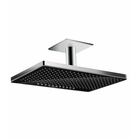 Hansgrohe Rainmaker Select Deszczownica z przyłączem sufitowym 46x30 cm, chrom/czarna 24004600
