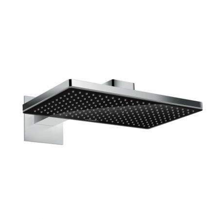 Hansgrohe Rainmaker Select Deszczownica ścienna z ramieniem prysznicowym 46x27 cm, chrom/czarna 24003600