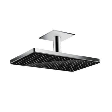 Hansgrohe Rainmaker Select Deszczownica z przyłączem sufitowym 46x27 cm, chrom/czarna 24002600