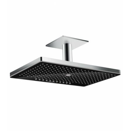Hansgrohe Rainmaker Select Deszczownica z przyłączem sufitowym 46x30x6,2 cm, chrom/czarna 24006600