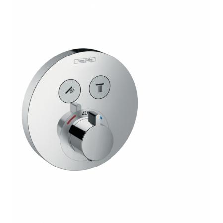 Hansgrohe ShowerSelect S Bateria wannowo-prysznicowa podtynkowa z termostatem chrom 15743000