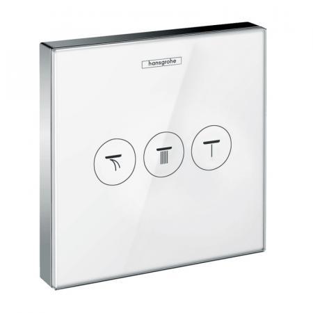 Hansgrohe ShowerSelect Glass Bateria wannowo-prysznicowa podtynkowa biały/chrom 15736400