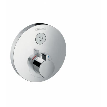 Hansgrohe ShowerSelect S Bateria wannowo-prysznicowa podtynkowa z termostatem chrom 15744000