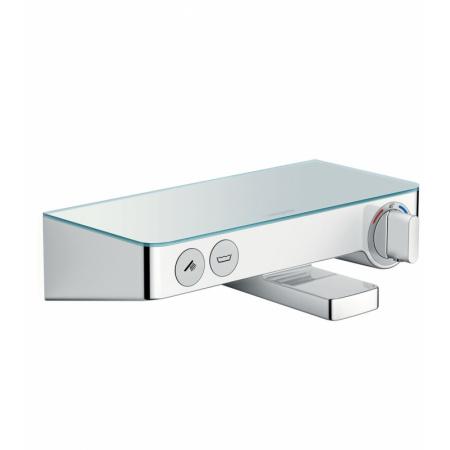 Hansgrohe ShowerTablet Select 300 Jednouchwytowa bateria wannowa natynkowa, chrom/biały 13151400
