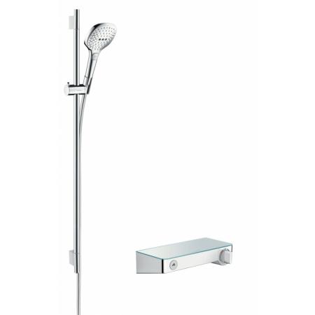 Hansgrohe ShowerTablet Select E Zestaw prysznicowy 90 cm, chrom/biały 27027400