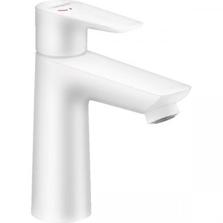Hansgrohe Talis E Bateria umywalkowa biały matowy 71713700