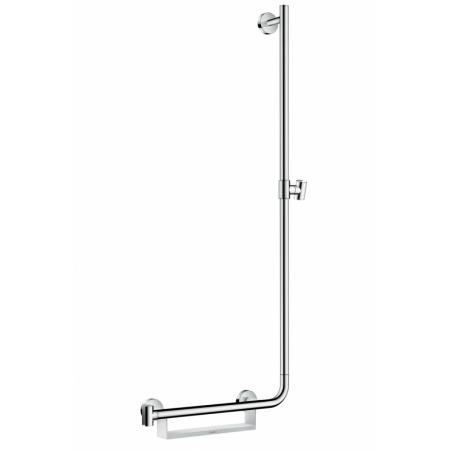 Hansgrohe Unica Comfort Drążek prysznicowy 110 cm prawy chrom/biały 26404400