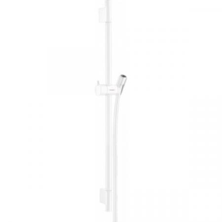 Hansgrohe Unica'S Puro Drążek prysznicowy 65 cm biały matowy 28632700