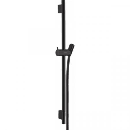 Hansgrohe Unica'S Puro Drążek prysznicowy 65 cm czarny matowy 28632670