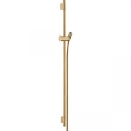 Hansgrohe Unica'S Puro Drążek prysznicowy 90 cm brąz szczotkowany 28631140