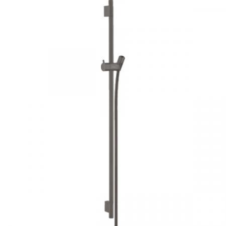 Hansgrohe Unica'S Puro Drążek prysznicowy 90 cm czarny chrom szczotkowany 28631340