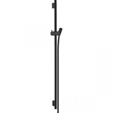 Hansgrohe Unica'S Puro Drążek prysznicowy 90 cm, czarny matowy 28631670