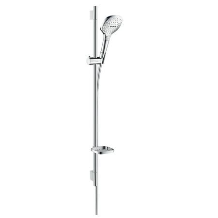 Hansgrohe Raindance Select E Zestaw prysznicowy 90 cm, chrom/biały 26621400