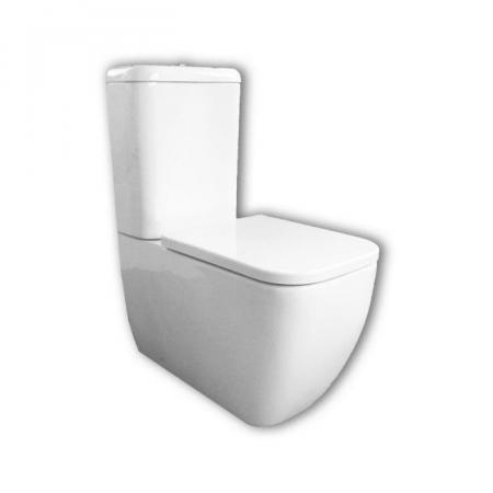 Hatria Bianca Toaleta WC stojąca 65,5x35,5 cm kompaktowa biała Y7AE01