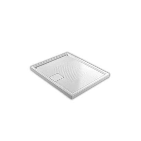 Hatria Lif.St Brodzik prostokątny 100x80x6 cm, biały YXE7