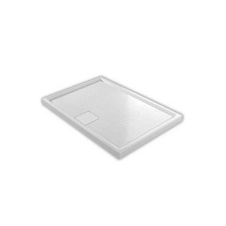 Hatria Lif.St Brodzik prostokątny 120x80x6 cm, biały YXE8