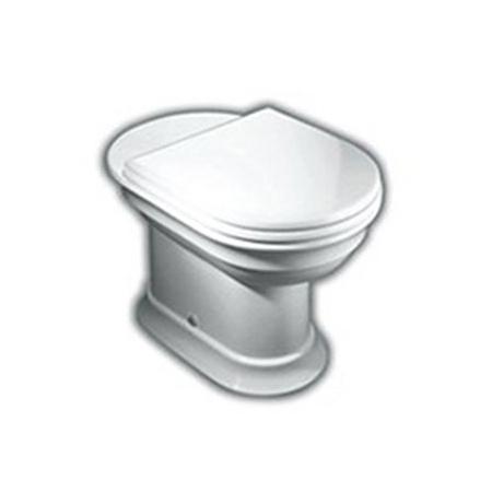 Hatria Dolcevita Toaleta WC stojąca 37x59x40 cm odpływ pionowy, biała YXXN