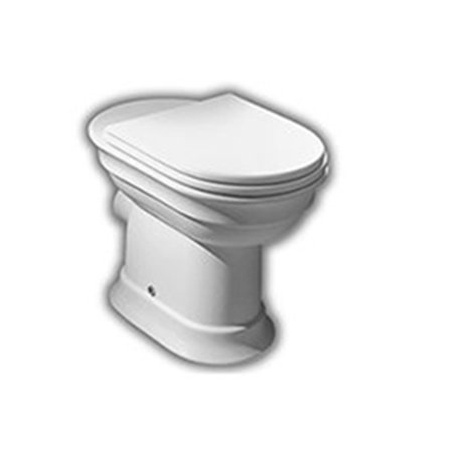 Hatria Dolcevita Muszla klozetowa miska WC stojąca 37x59 cm odpływ poziomy, biała YXXP