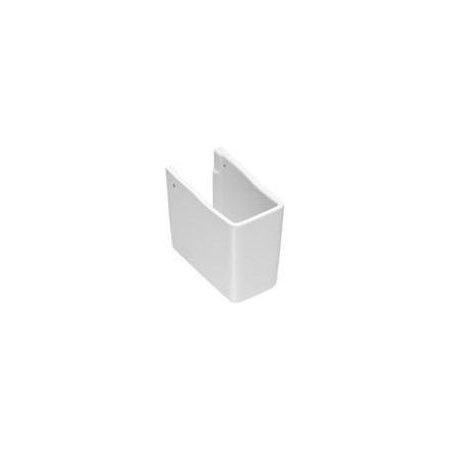 Hatria Erika Pro Q Półpostument 15x26 cm, biały YXBK