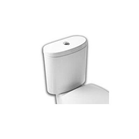 Hatria Erika Pro Zbiornik WC kompaktowy 37x17x37 cm bez mechanizmu spłukującego dopływ z dołu, biały YXG2