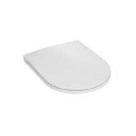 Hatria Fusion Deska sedesowa wolnoopadająca, biała YXVX
