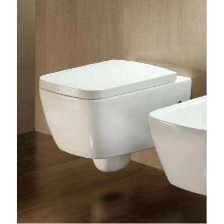 Hatria Fusion Miska WC podwieszana 35,5x54 cm, biała YXVE