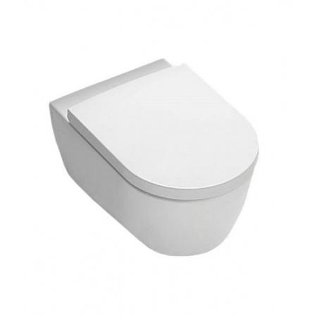 Hatria Fusion Toaleta WC podwieszana 35,5x54x27 cm, biała YXGQ