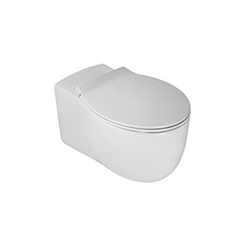 Hatria Le Fiabe Toaleta WC podwieszana55,5x36,5 cm, biała Y1AC