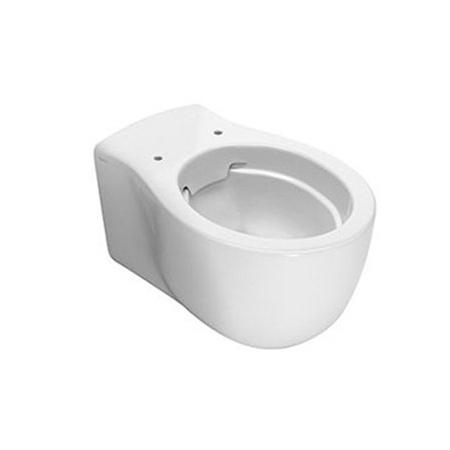 Hatria Le Fiabe Toaleta WC podwieszana 55,5x36,5 cm bez kołnierza, biała Y1CD