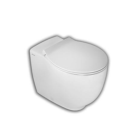 Hatria Le Fiabe Toaleta WC stojąca 37x55,5x41 cm Rimless bez kołnierza, biała Y1E7