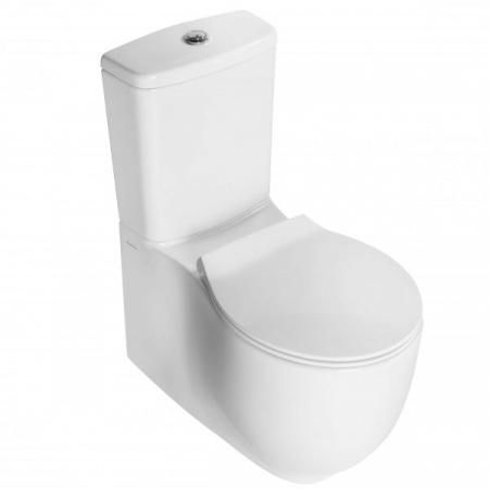 Hatria Le Fiabe Zbiornik WC kompaktowy 32x34,5 cm dopływ z góry, biały Y1BC