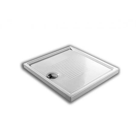 Hatria Lif.Ro Brodzik prostokątny 80x80x6 cm, biały Y1DQ