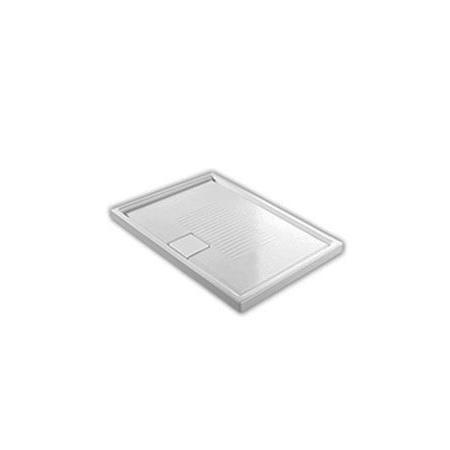 Hatria Lif.St Brodzik prostokątny 100x70x6 cm, biały YXMJ