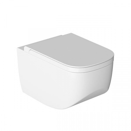 Hatria Next Toaleta WC podwieszana 36x56x31 cm bez kołnierza, biała Y1F1