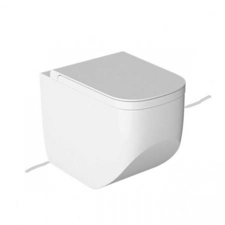 Hatria Next Toaleta WC stojąca 36x56x42 cm bez kołnierza, biała Y1F9