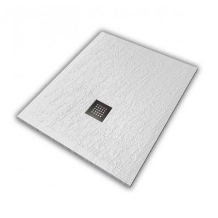 Hatria Petra H3 Ardesia Brodzik prostokątny 100x70 cm biały PA10007000100