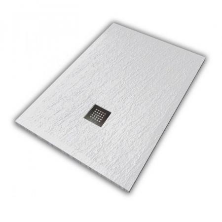Hatria Petra H3 Ardesia Brodzik prostokątny 120x70 cm biały PA12007000100