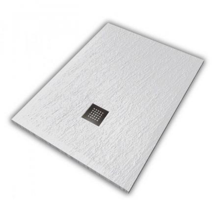 Hatria Petra H3 Ardesia Brodzik prostokątny 120x80 cm biały PA12008000100