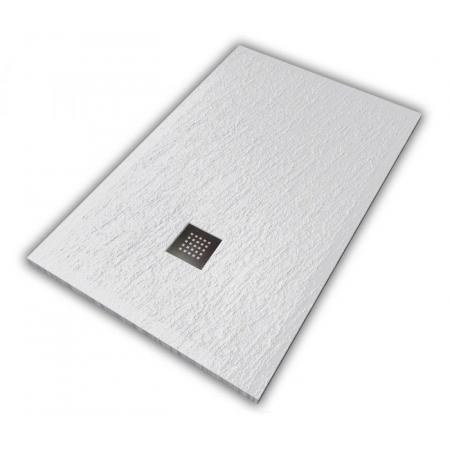 Hatria Petra H3 Ardesia Brodzik prostokątny 140x70 cm biały PA14007000100