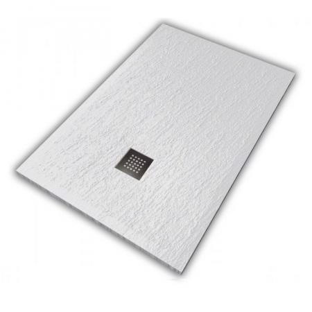 Hatria Petra H3 Ardesia Brodzik prostokątny 140x80 cm biały PA14008000100
