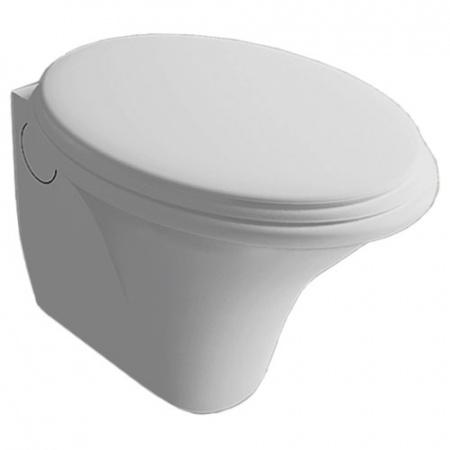 Hatria Sculture Toaleta WC podwieszana 60x40 cm, biała YXKN