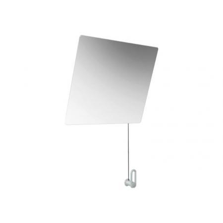 Hewi 801 Lustro ścienne uchylne 60x54 cm białe 801.01.10098